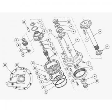 Massey-Ferguson 9540 Reman Hydraulic Final Drive Motor