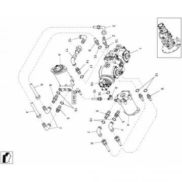 JCB 190 Reman Hi Flow Hydraulic Final Drive Motor
