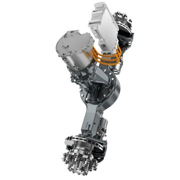 Case IH 7010 2-SPD Reman Hydraulic Final Drive Motor